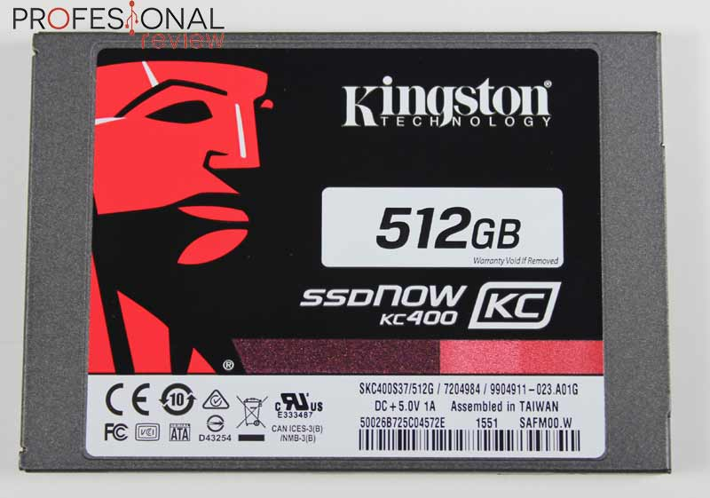 Kingston SSDnow KC400