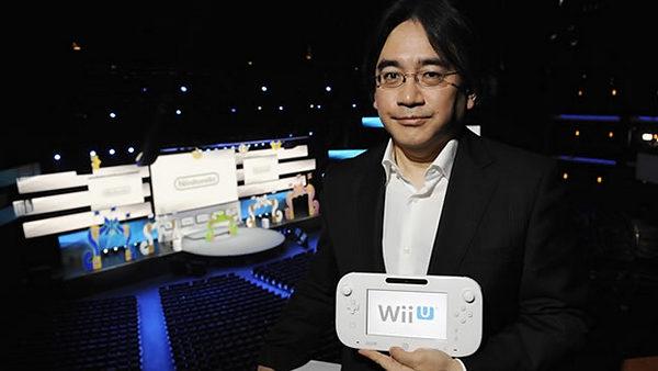 Nintendo wiiu iwata