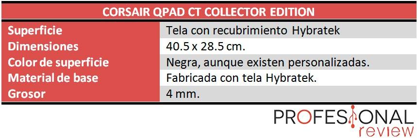 QPad CT caracteristicas