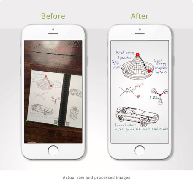 rocketbook wave smartphone