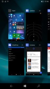 windows 10 mobile multitarea