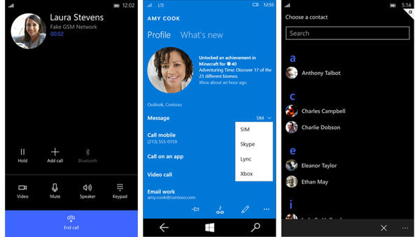 windows 10 mobile teléfono