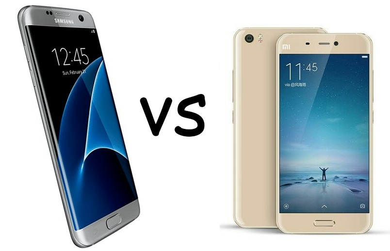 Xiaomi Mi5 vs Samsung Galaxy S7