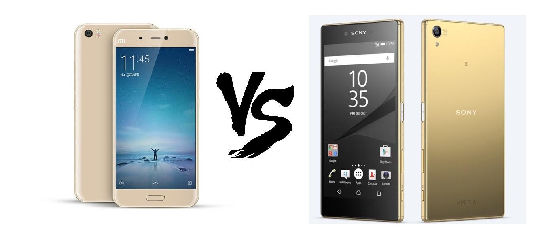 Xiaomi Mi5 vs Sony Xperia Z5