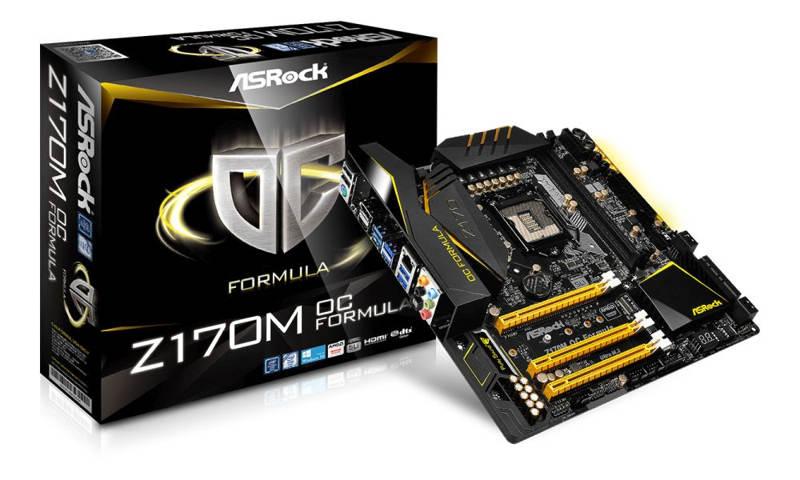 ASRock Z170M OC Formula única en soportar la RAM DDR4 4.333 MHz