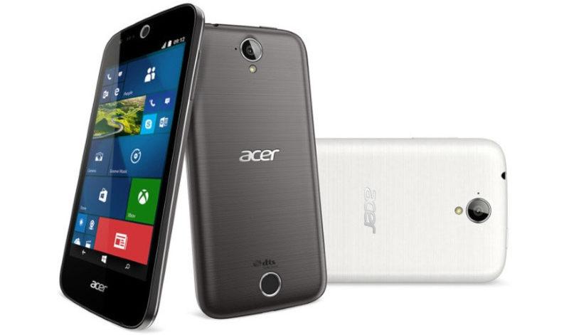 Acer Liquid M330 con windows 10