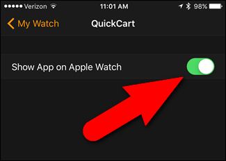 Desinstalando apps en el Apple Watch