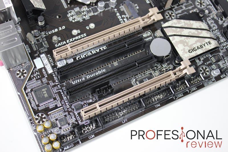Gigabyte X150M-PRO layout PCI