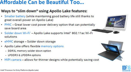 Intel Apollo Lake anunciado oficialmente 3