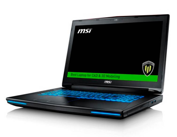 Photo of MSI WT72 Workstation lanzados con Intel i7-6920HQ