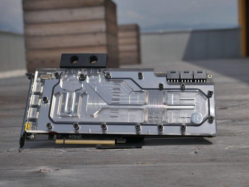 Nuevo bloque EK Water Blocks para Radeon Pro Duo