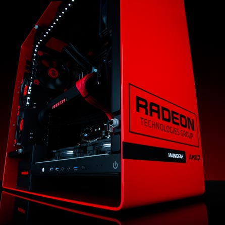 Photo of AMD Radeon R9 M480 con frecuencia de 1 GHz