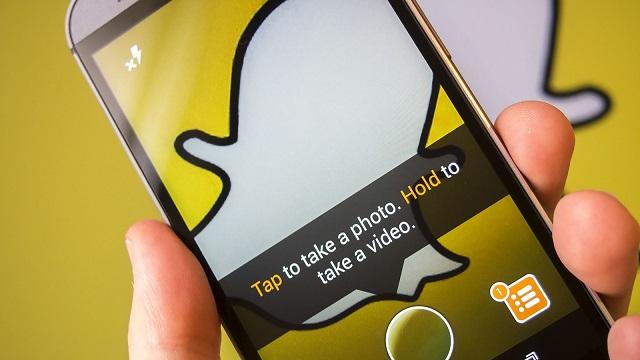 grabar videos en Snapchat