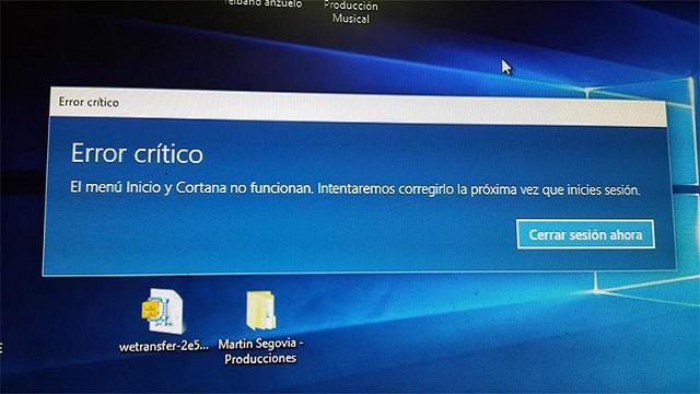 Photo of ¿Problemas con el menú inicio  en Windows 10? Te traemos 3 posibles correcciones