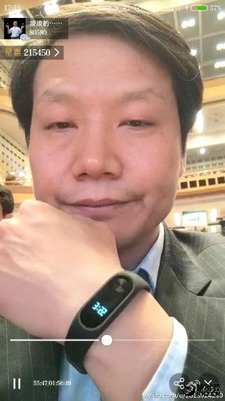 Xiaomi Mi Band 2 con pantalla y botón físico