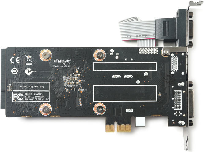Zotac GeForce GT 710 con interfaz PCI-E x1 2