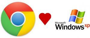 Google Chrome dejara de dar soporte a Windows XP