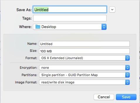 Cifrado en OS X