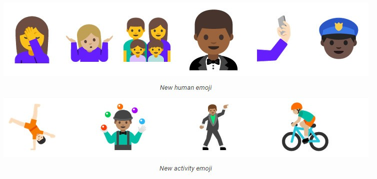 Emojis en Android N
