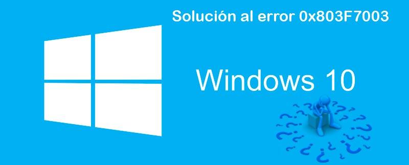error 0x803F7003