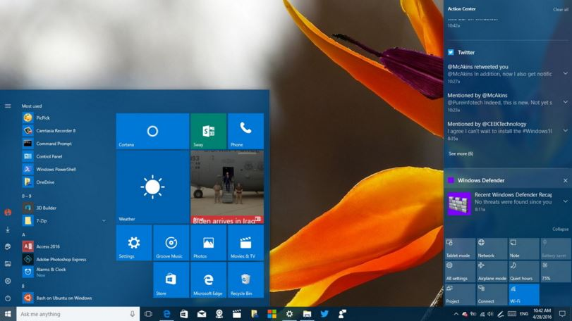 modificar notificaciones en Windows 10