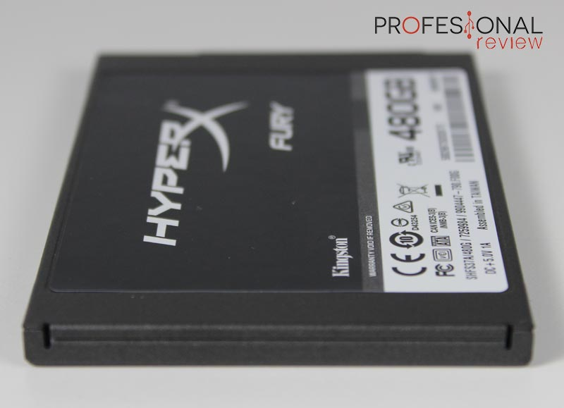 HyperX Fury SSD 480GB analisis