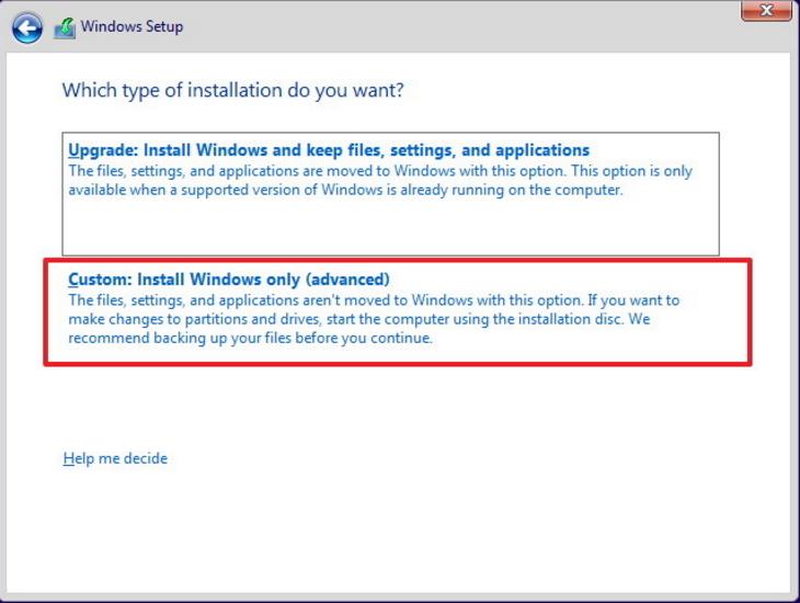 instalacion de windows12)