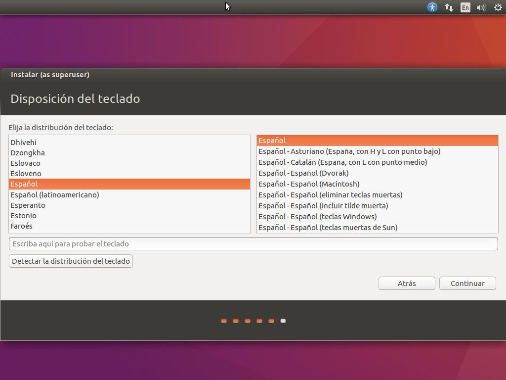 instalar ubuntu 16.04 lts en virtualbox 15