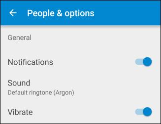 Silenciar mensajes en Android