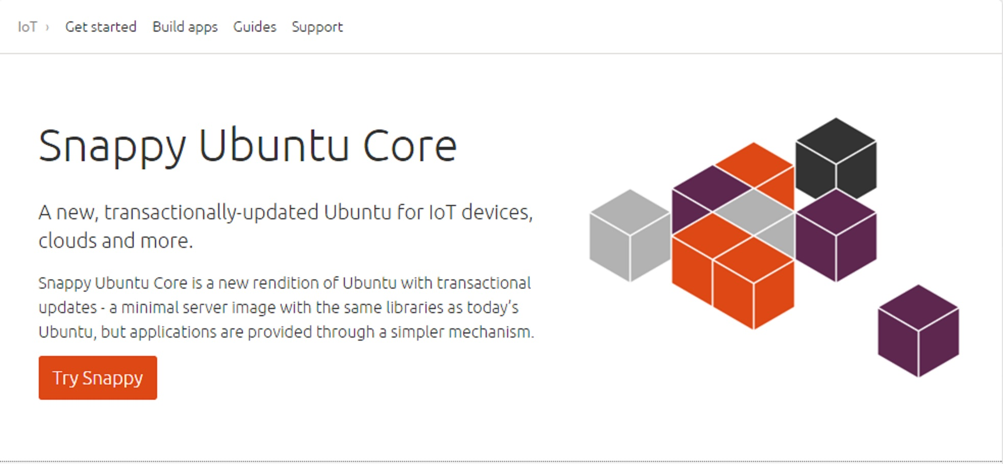 Snappy Ubuntu Core
