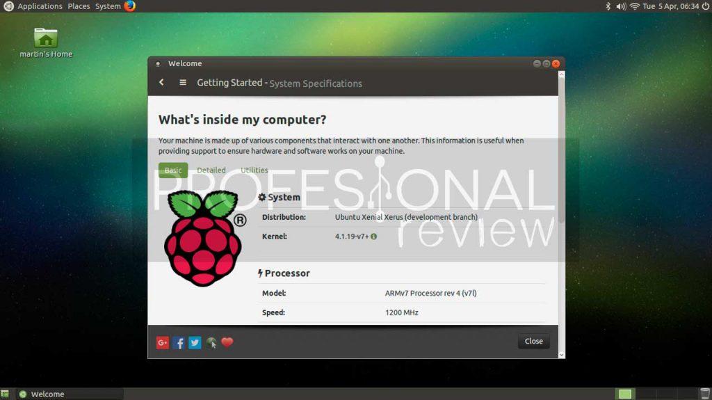 Ubuntu Mate raspberry pi 3