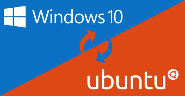 windows 10 ubuntu