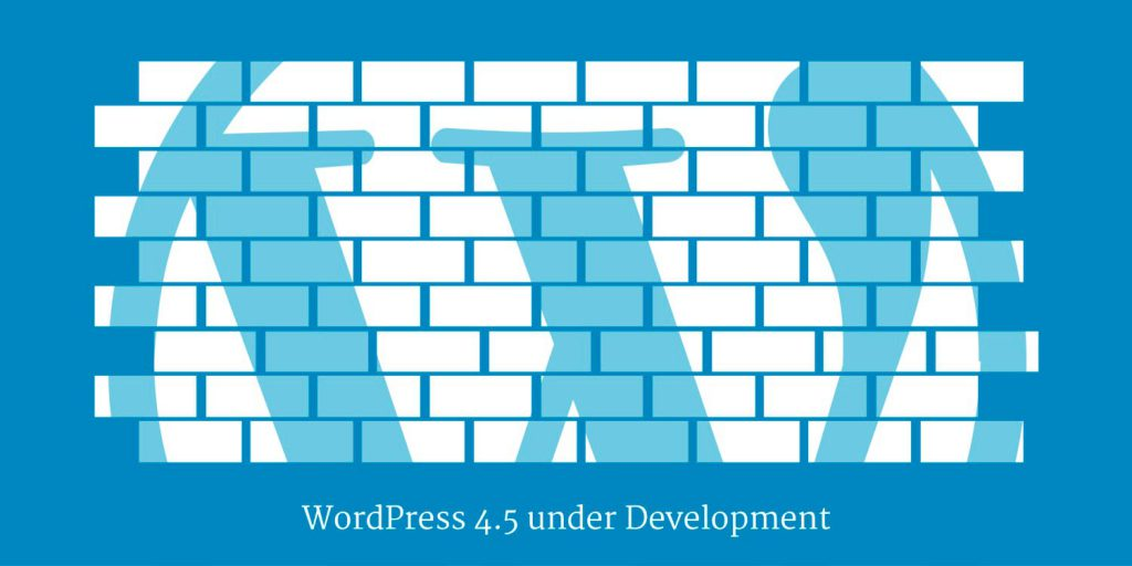 WordPress 4.5