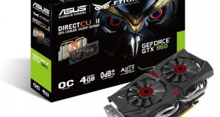 ASUS GeForce STRIX GTX960 DirectCU II OC 4GB GDDR5