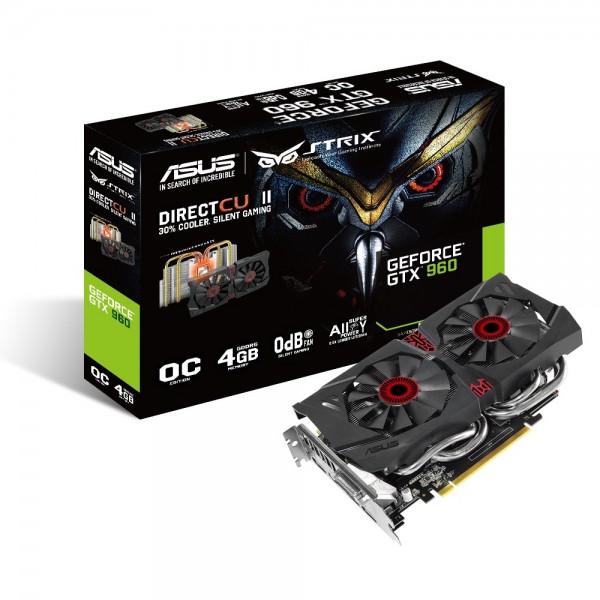ASUS GeForce STRIX GTX960 DirectCU aussar