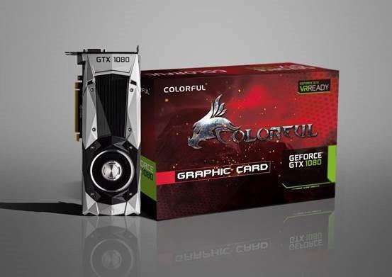 Colorful GeForce GTX 1080 con diseño de referencia
