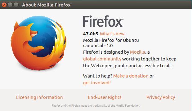 firefox beta ubuntu