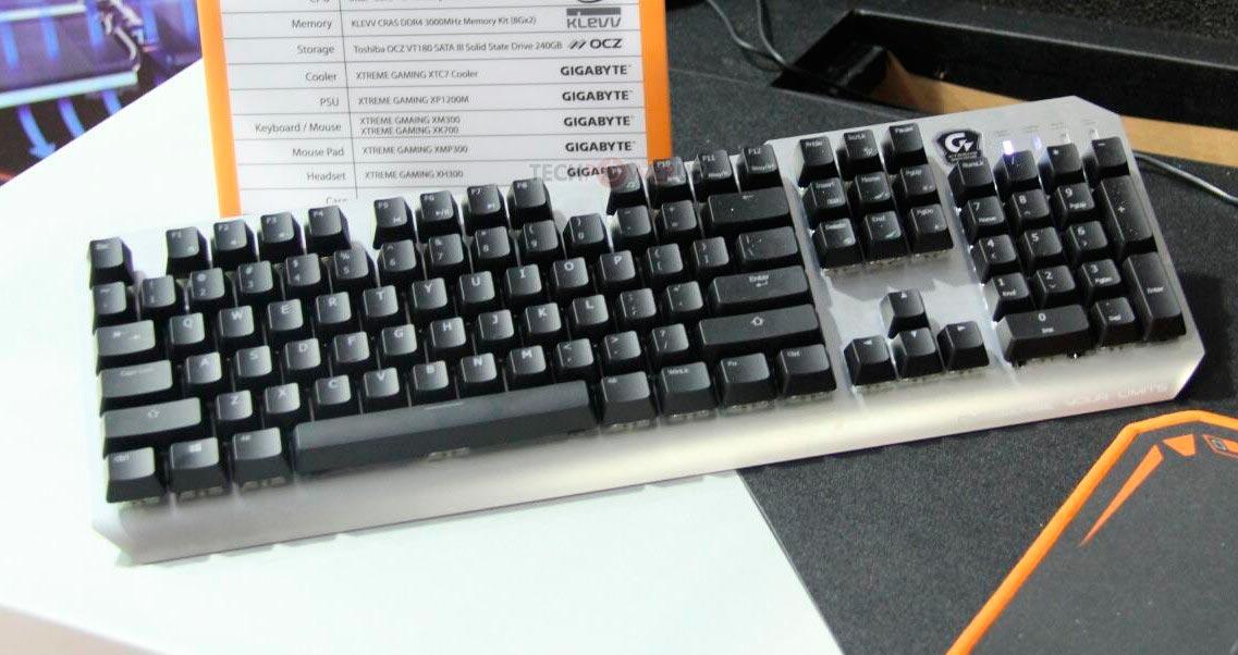 Photo of GIGABYTE XK-700 Xtreme Gaming