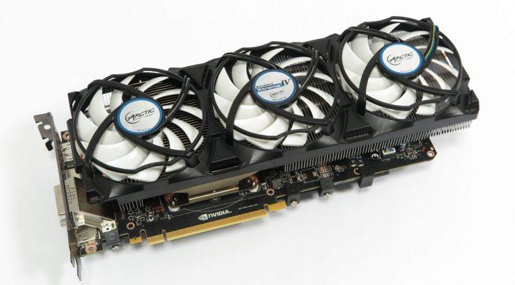 Photo of Nvidia GTX 1080 más Arctic Accelero Xtreme IV = 50ºC