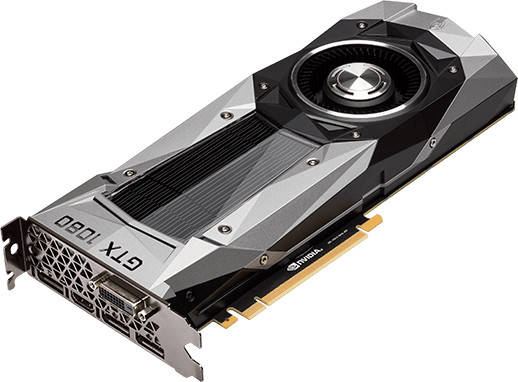 GeForce GTX 1080 sin conectores D-Sub (VGA)