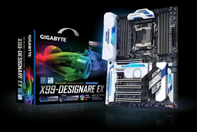 Gigabyte X99 Designare EX