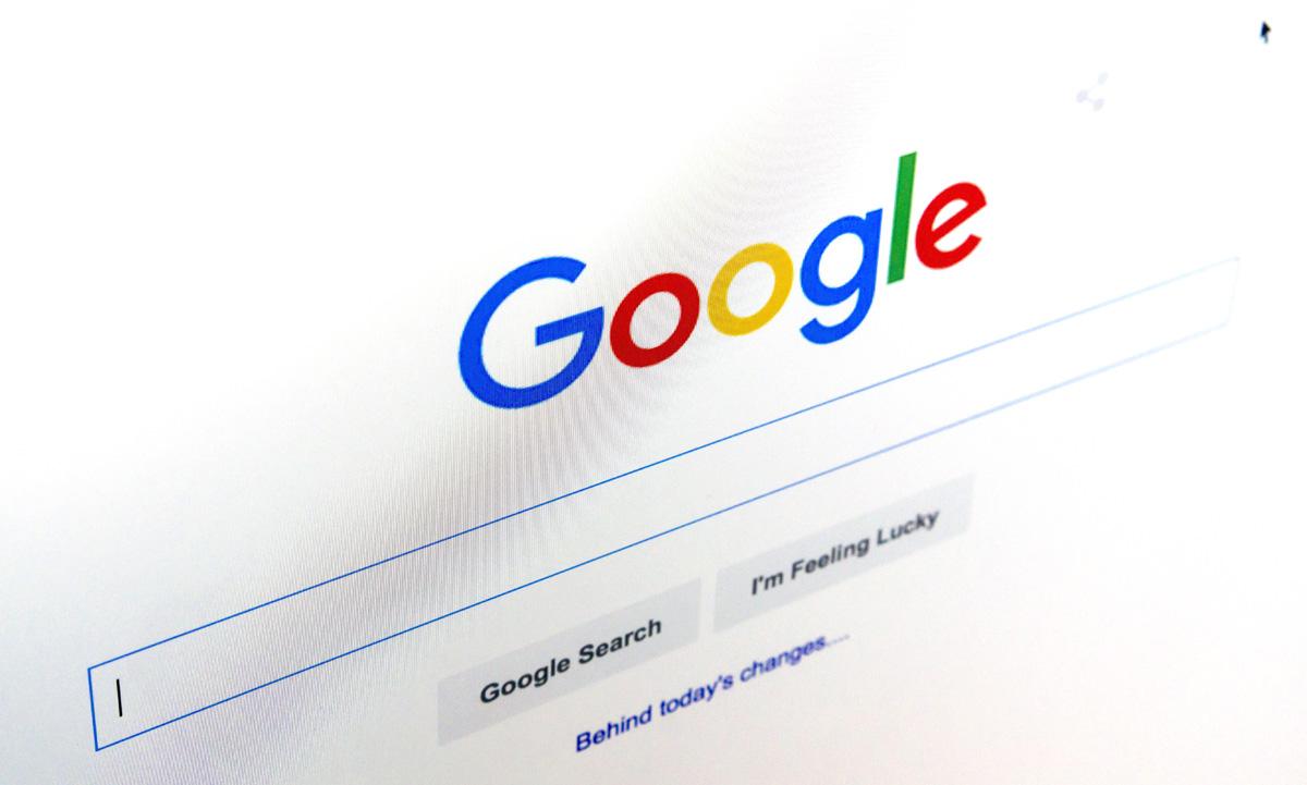 Photo of Google cambia a color negro sus enlaces