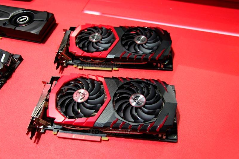 Photo of MSI GTX 1080 Gaming Z y MSI GTX 1080 Gaming X en imágenes