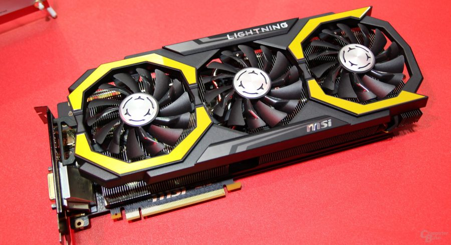 MSI GeForce GTX 1080 Lightning en imágenes