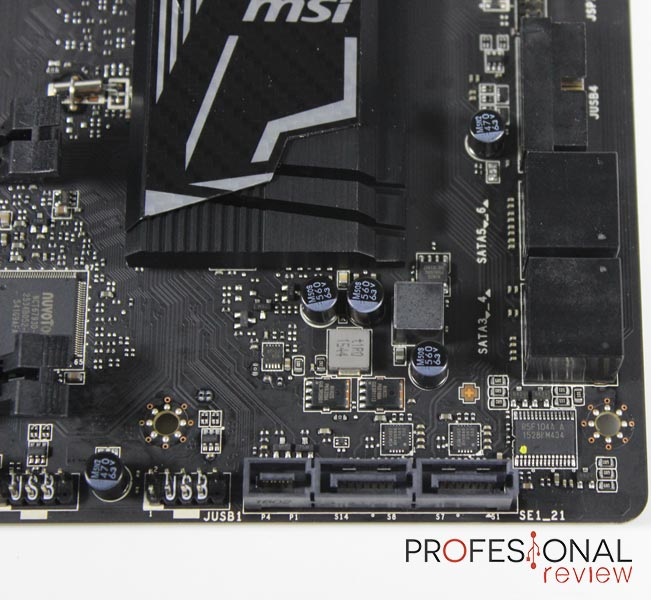 MSI Z170A Gaming pro Carbon analisis