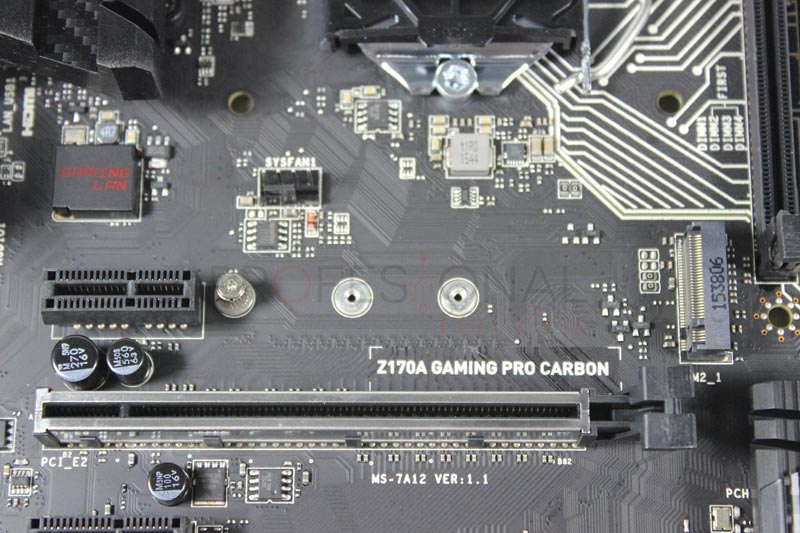 MSI Z170A Gaming pro Carbon m2