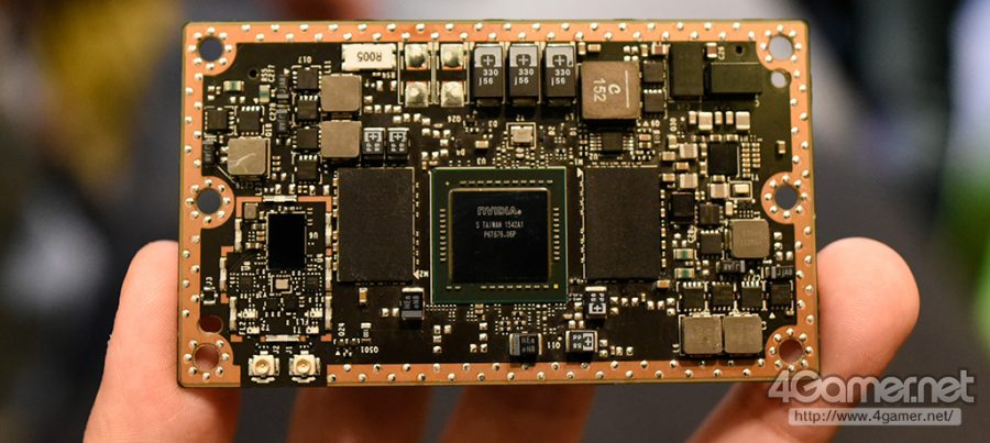 Nuevo procesador Nvidia Tegra con arquitectura Pacal