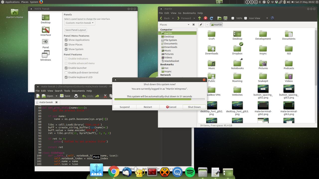 Ubuntu MATE 16.10 2