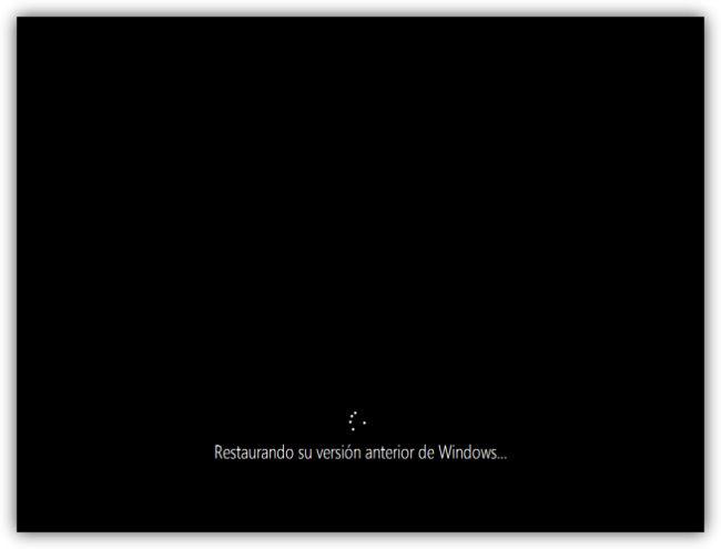 Windows 10 volver windows 7