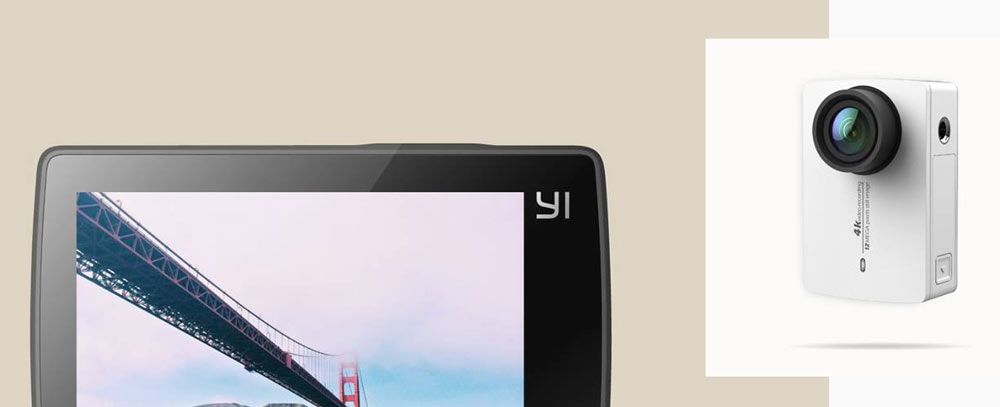 Xiaomi Yi 4K, nueva cámara deportiva de alta gama